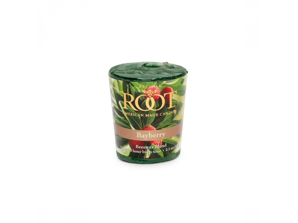 ROOT CANDLES Votivo Bayberry