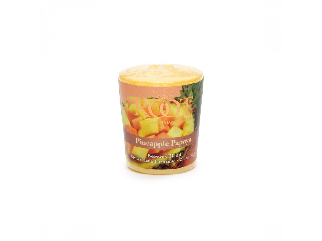 ROOT CANDLES Votivo Pineapple & Papaya
