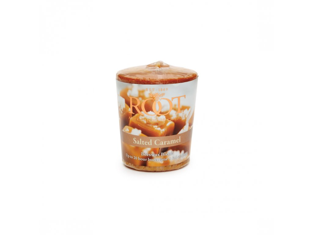 ROOT CANDLES Votivo Salted Caramel