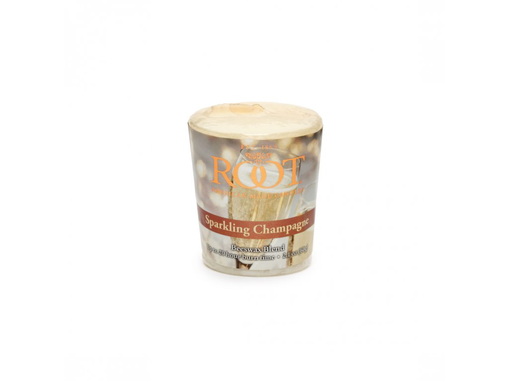 ROOT CANDLES Votivo Sparkling Champagne