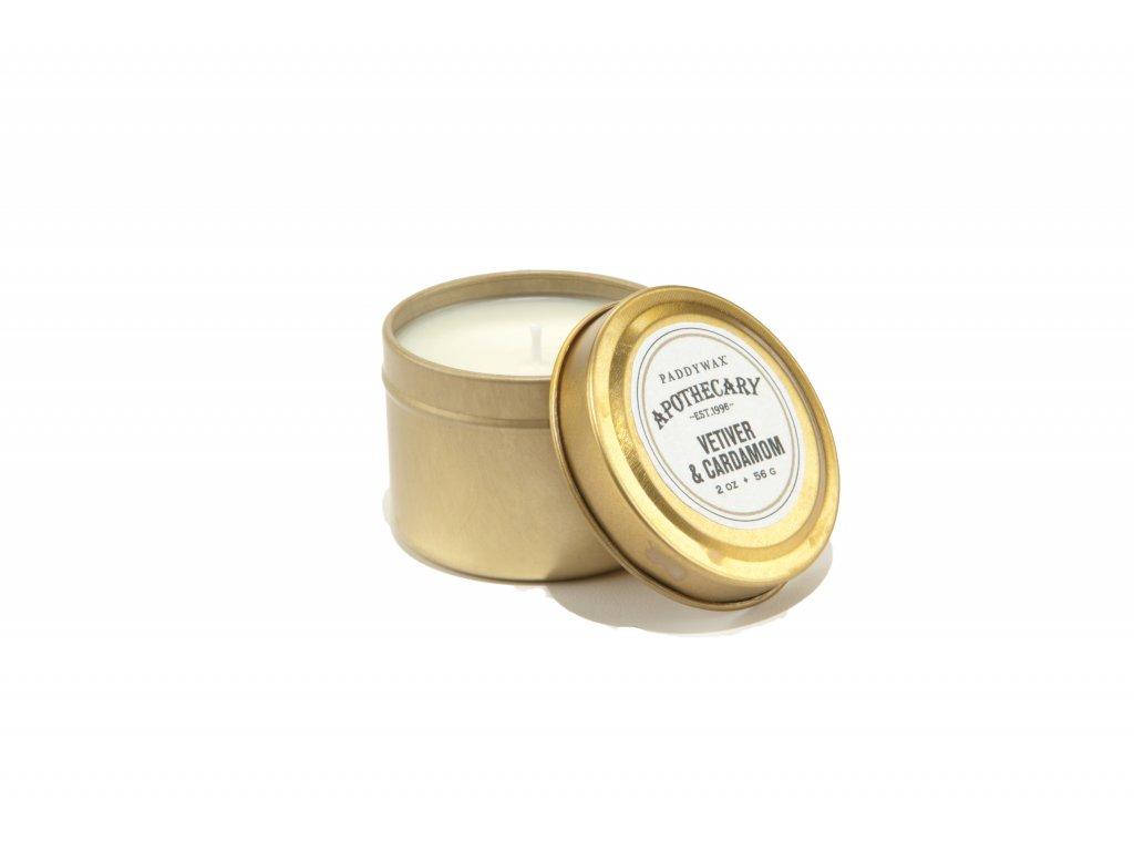 Paddywax Apothecary Vetiver Cardamom 2oz 56g