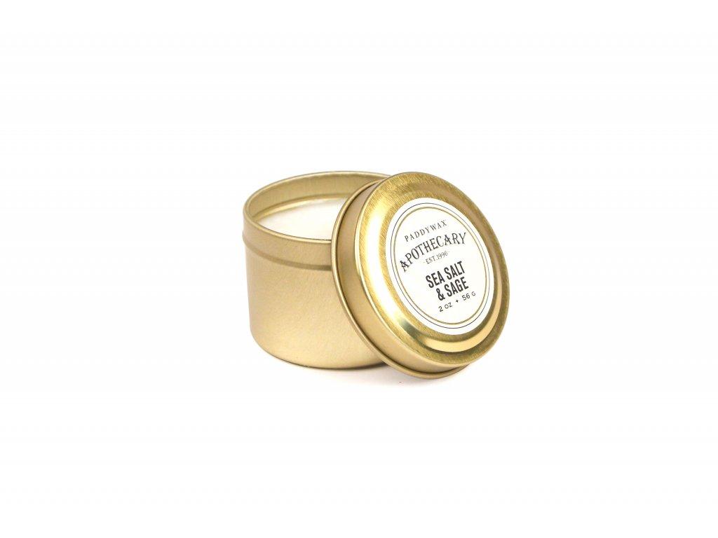 Paddywax Apothecary Sea Salt Sage 2oz 56g