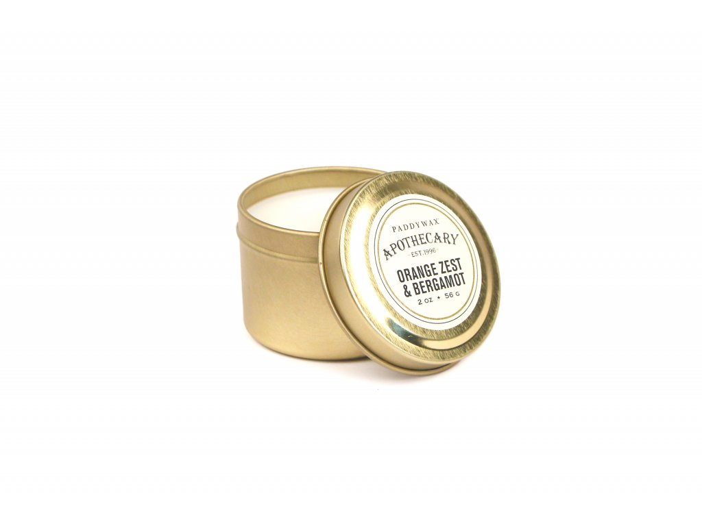 Paddywax Apothecary Orange Zest Bergamot 2oz 56g