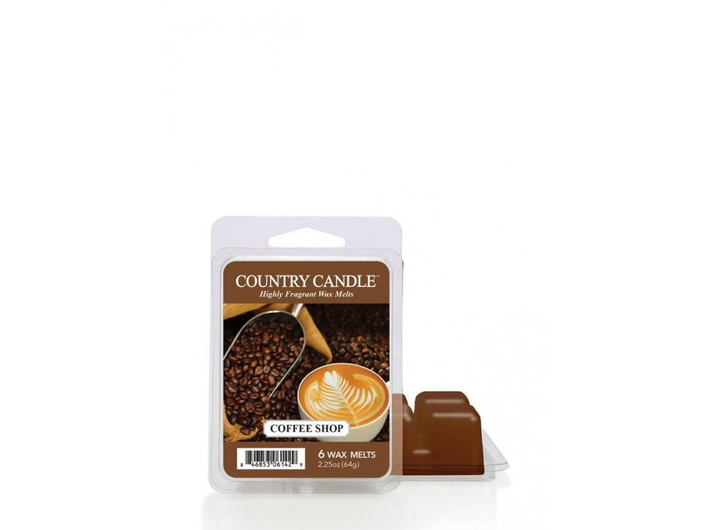 Country Candle Coffee Shop vonný vosk (64 g)