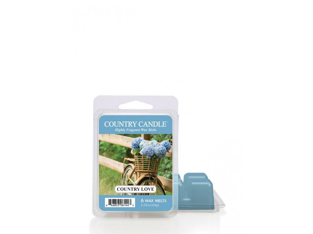 Country Candle Country Love vonný vosk (64 g)