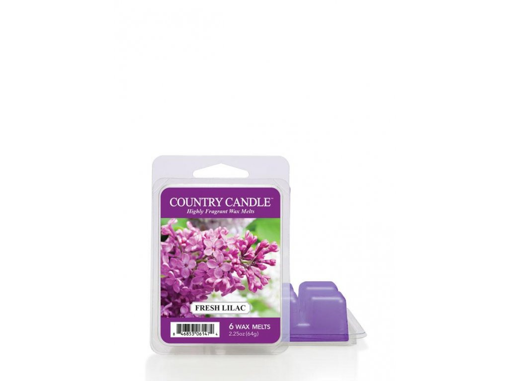 Country Candle Fresh Lilac vonný vosk (64 g)