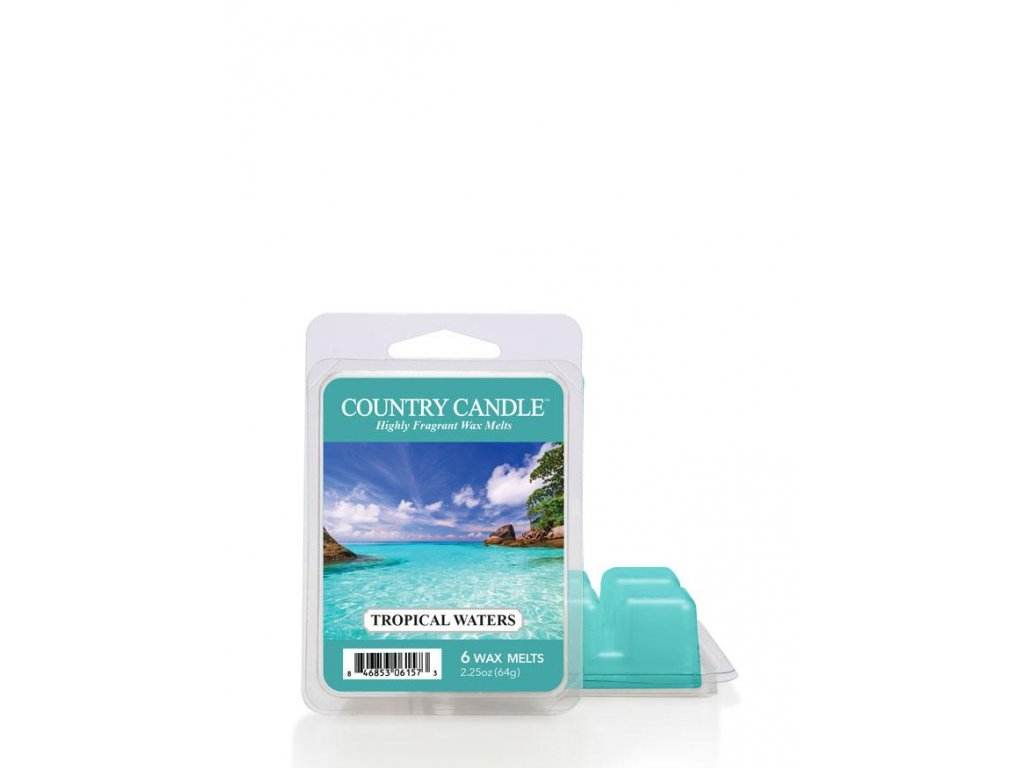 Country Candle Tropical Waters vonný vosk (64 g)