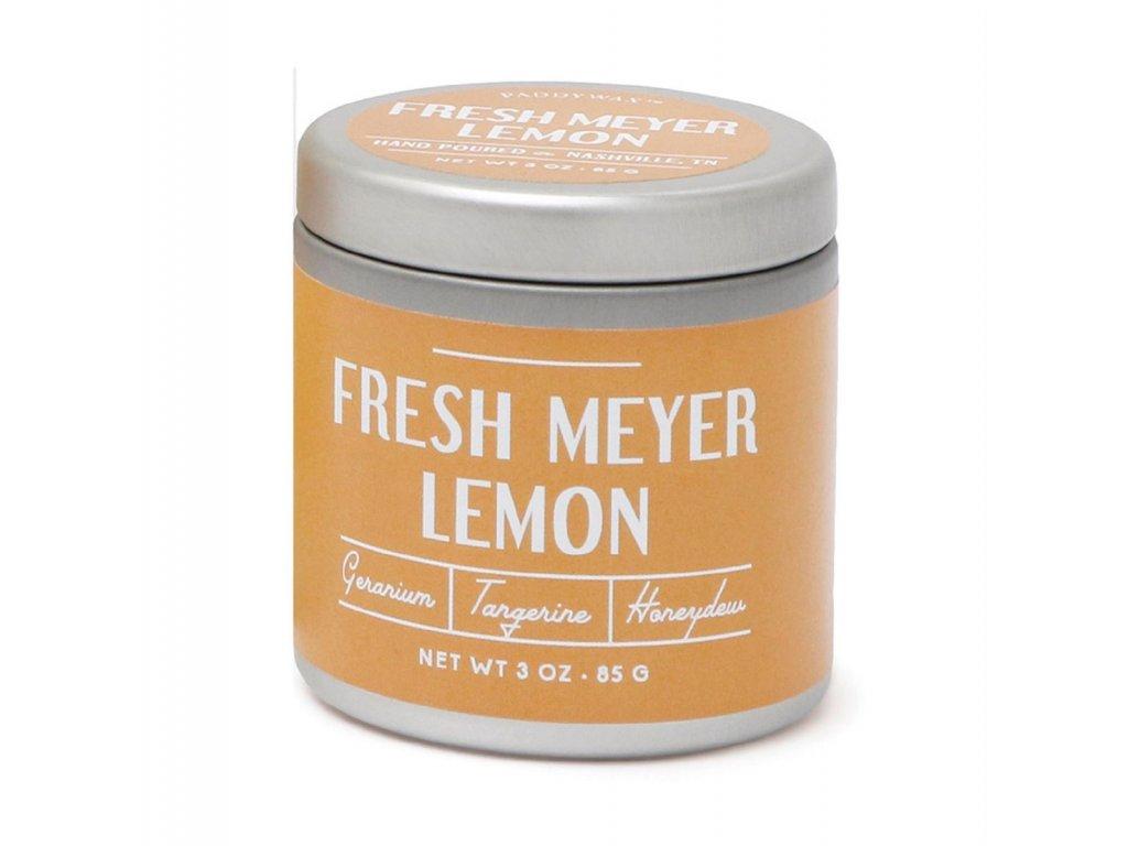 paddywax farmhouse fresh meyer lemon tin