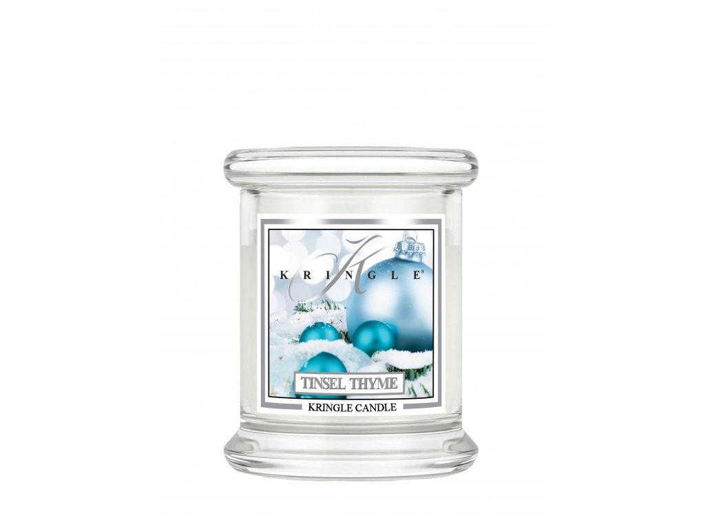 new kringle label 4 5oz mini jar tinsel thyme