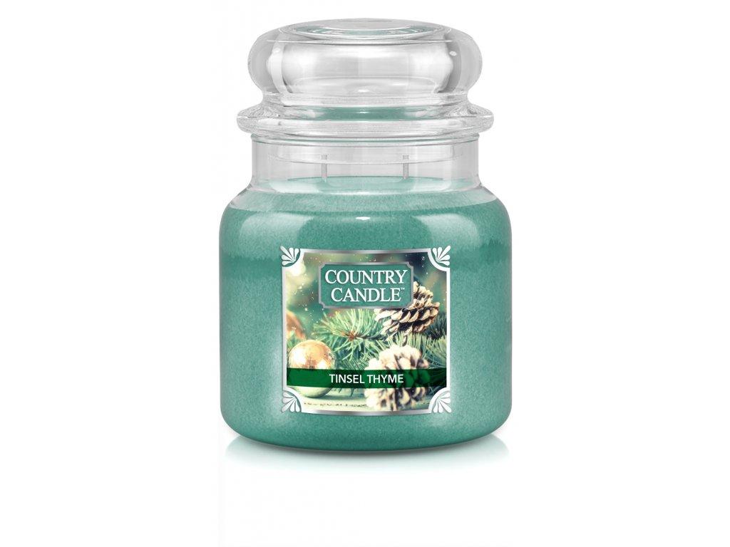 NEW label design CC medium jar tinsel thyme