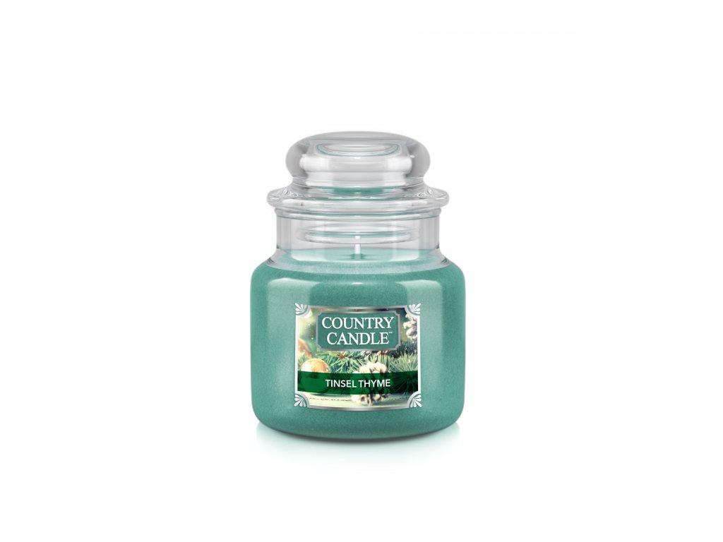 NEW label design CC small jar tinsel thyme