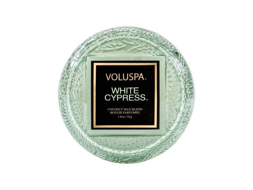 voluspa japonica holiday white Cyppress macaron vonna sviecka