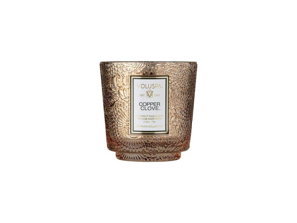 voluspa pedestal candle copper clover vonna sviecka