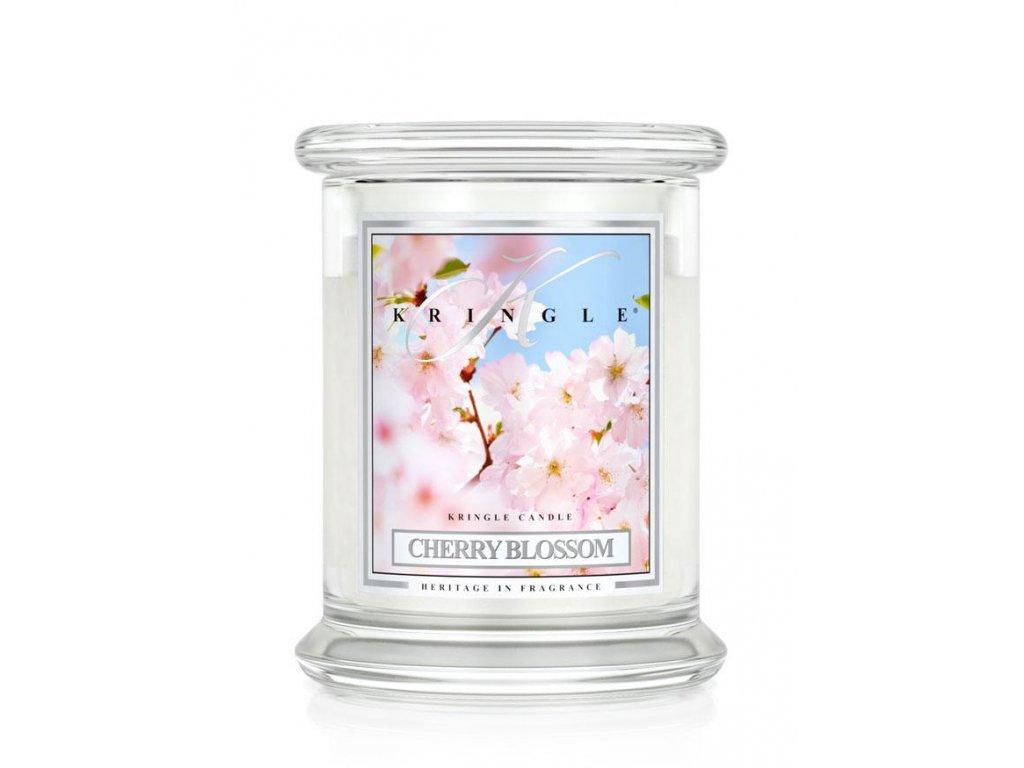 vonná sviečka kringle candle cherry blossom stredná
