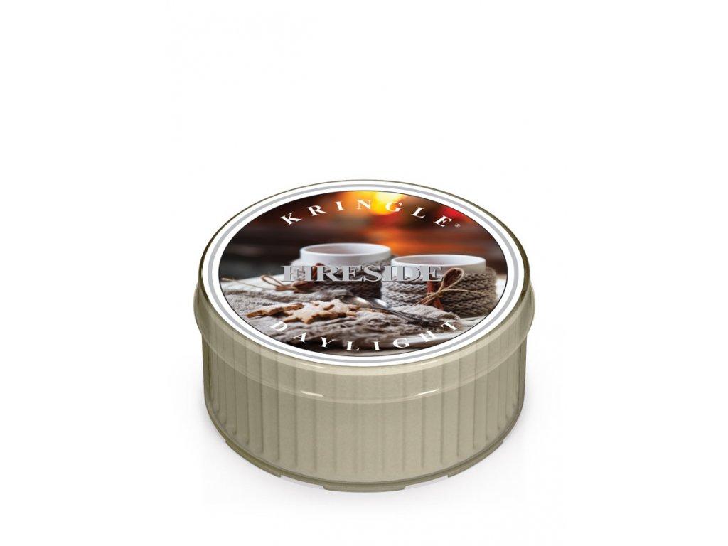 Kringle Candle FIRESIDE vonná sviečka (35 g)