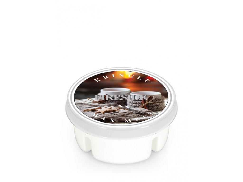 Kringle Candle FIRESIDE vonný vosk (35 g)