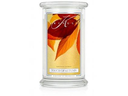 Kringle Candle Touch of Autumn vonná sviečka veľká 2-knôtová (624 g)