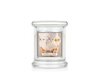 Kringle Candle Vanilla Cone vonná sviečka mini 1-knôtová (127 g)