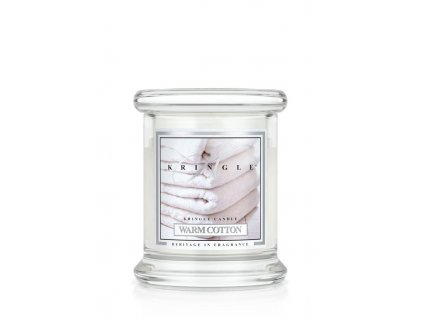 Kringle Candle Warm Cotton vonná sviečka mini 1-knôtová (127 g)