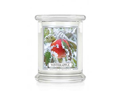 Kringle Candle Winter Apple vonná sviečka malá 1-knôtová (240 g)