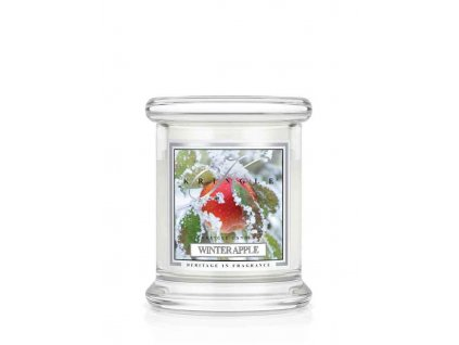 Kringle Candle Winter Apple vonná sviečka mini 1-knôtová (127 g)