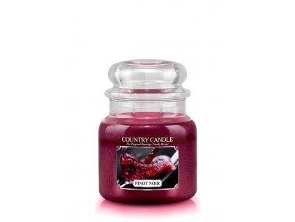 COUNTRY CANDLE Pinot Noir vonná sviečka stredná 2-knôtová (453 g)