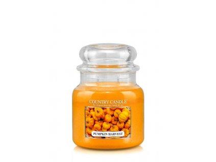 COUNTRY CANDLE Pumpkin Harvest vonná sviečka stredná 2-knôtová (453 g)
