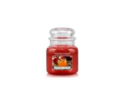 COUNTRY CANDLE Spiced Apple Chai-der vonná sviečka stredná 2-knôtová (453 g)