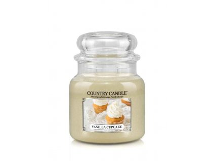 COUNTRY CANDLE Vanilla Cupcake vonná sviečka stredná 2-knôtová (453 g)