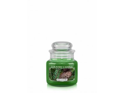 COUNTRY CANDLE Balsam Fir vonná sviečka mini 1-knôtová (104 g)