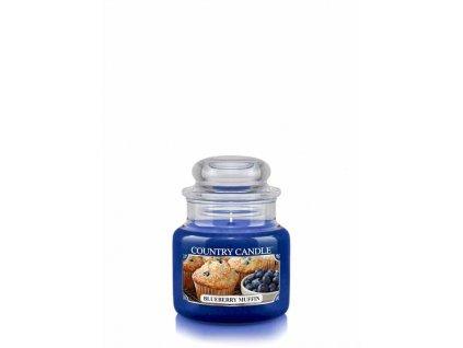 COUNTRY CANDLE Blueberry Muffin vonná sviečka mini 1-knôtová (104 g)