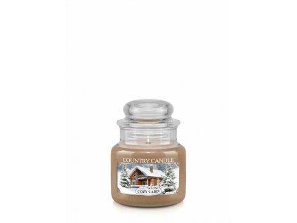 COUNTRY CANDLE Cozy Cabin vonná sviečka mini 1-knôtová (104 g)