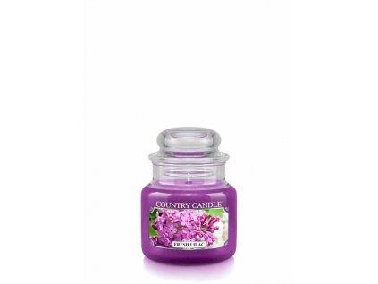 COUNTRY CANDLE Fresh Lilac vonná sviečka mini 1-knôtová (104 g)