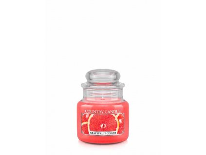 COUNTRY CANDLE Grapefruit Ginger vonná sviečka mini 1-knôtová (104 g)