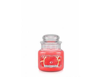 COUNTRY CANDLE Grapefruit Ginger vonná sviečka mini 1-knôtová (104 g)