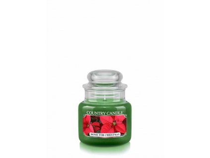 COUNTRY CANDLE Home for Christmas vonná sviečka mini 1-knôtová (104 g)
