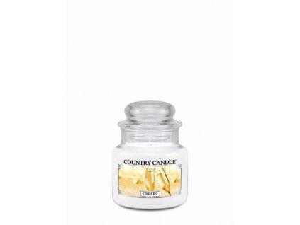 COUNTRY CANDLE Cheers vonná sviečka mini 1-knôtová (104 g)