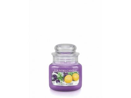 COUNTRY CANDLE Lemon Lavender vonná sviečka mini 1-knôtová (104 g)