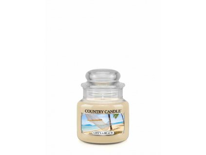 COUNTRY CANDLE Life's A Beach vonná sviečka mini 1-knôtová (104 g)