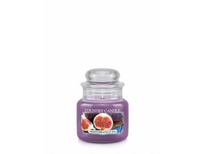 COUNTRY CANDLE Mediterranean Fig vonná sviečka mini 1-knôtová (104 g)