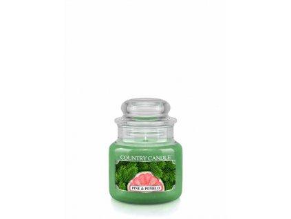 COUNTRY CANDLE Pine & Pomelo vonná sviečka mini 1-knôtová (104 g)