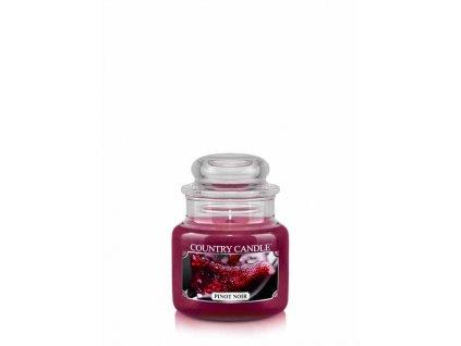 COUNTRY CANDLE Pinot Noir vonná sviečka mini 1-knôtová (104 g)