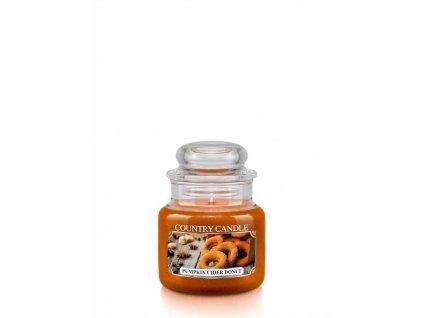 COUNTRY CANDLE Pumpkin Cider Donut vonná sviečka mini 1-knôtová (104 g)