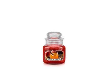 COUNTRY CANDLE Spiced Apple Chai-der vonná sviečka mini 1-knôtová (104 g)