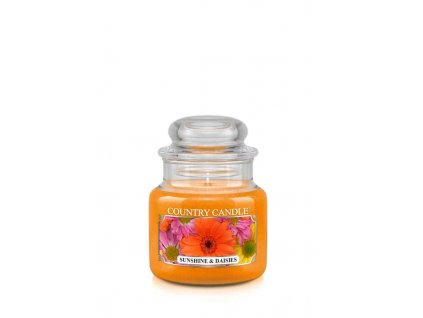 COUNTRY CANDLE Sunshine & Daisies vonná sviečka mini 1-knôtová (104 g)
