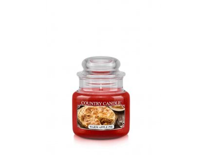 COUNTRY CANDLE Warm Apple Pie vonná sviečka mini 1-knôtová (104 g)