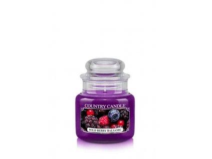 COUNTRY CANDLE Wild Berry Balsamic vonná sviečka mini 1-knôtová (104 g)