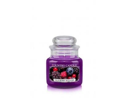 COUNTRY CANDLE Wild Berry Balsamic vonná sviečka mini 1-knôtová (104 g)