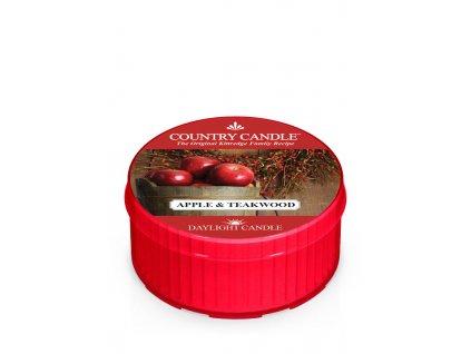 COUNTRY CANDLE Apple & Teakwood vonná sviečka (35 g)