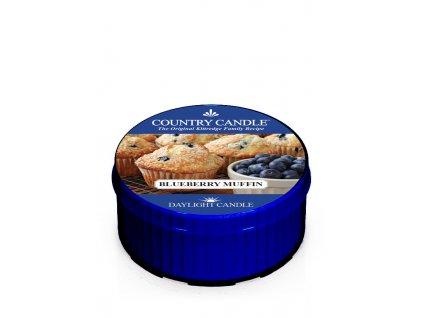 COUNTRY CANDLE Blueberry Muffin vonná sviečka (35 g)